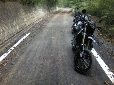 2007.09.23  富士山南アルプス林道ツー