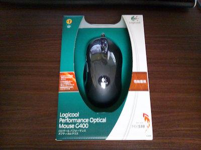 マウスを買ってみた。