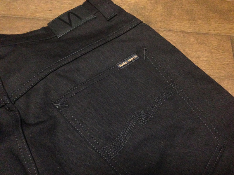 Nudie Jeans Thin Finn/ORG.BLACK RING