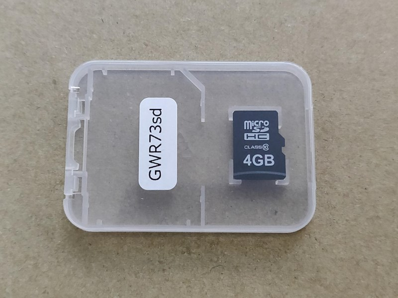 ユピテル レーダー探知機更新 microSDカードお届けプラン(GWR73sd) 【RAV4】