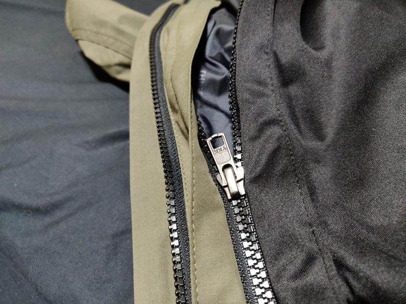 ワークマンのブルゾンをマウンテンライトジャケットにZip in Zipする。