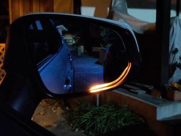 axis-parts LEDウインカー付きドアミラー取り付け 【RAV4】