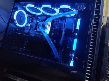 水冷PCのケースをDefine 7に交換。