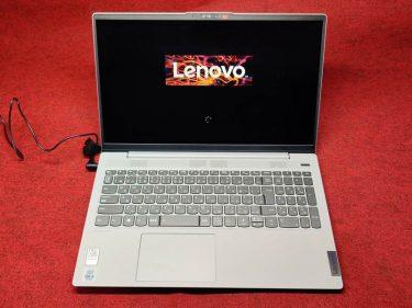 Lenovoのノートパソコンを買いました。
